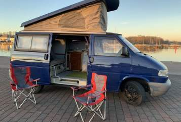 Hire a motorhome in Rostock from private owners| VW T4 Hirsch
