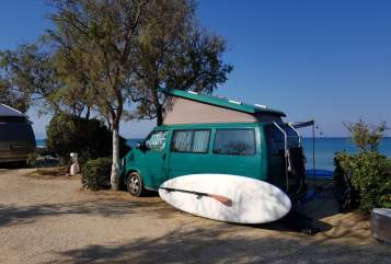Hire a motorhome in München from private owners  VW T4 (VR6) Mr. MUH