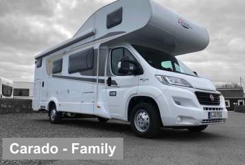 Hire a motorhome in Berlin from private owners| Carado Carado-Family1