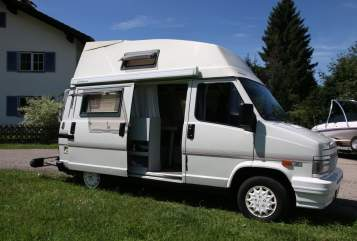 Hire a motorhome in Halblech from private owners| Fiat Ducato Dörte