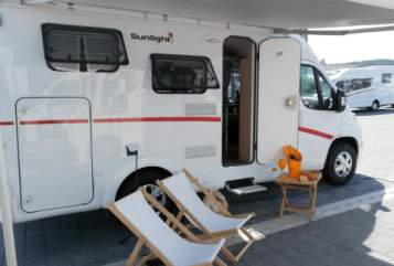 "Hire a motorhome in Kiel from private owners| Sunlight ""A&B"""