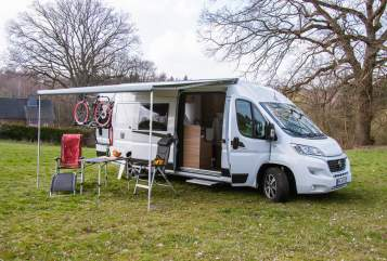 Hire a motorhome in Hamburg from private owners| Fiat Tante Ami