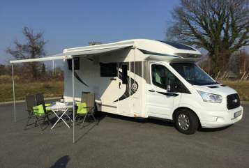 Hire a motorhome in Wahlstedt from private owners| Chausson Abenteurer