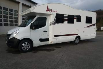 Hire a motorhome in Bad Driburg from private owners| Rimor Eagle