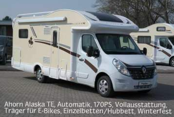 Hire a motorhome in Homburg from private owners| Ahorn Ahorn Alaska TE