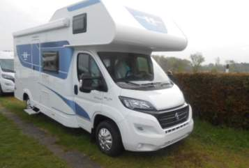 Hire a motorhome in Selent from private owners| Hobby Malene