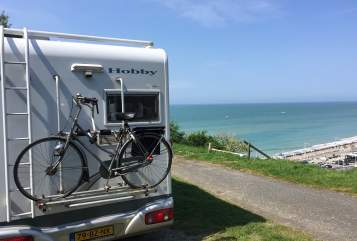 Hire a motorhome in Utrecht from private owners| Hobby Uniek en Top