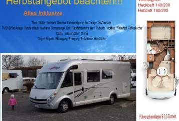 Hire a motorhome in Aalen from private owners| Carthago  Digger
