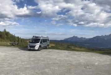 Hire a motorhome in Bernstadt a. d. Eigen from private owners| Adria  Woni