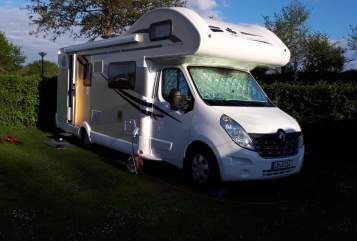 Hire a motorhome in Elbtal from private owners  Ahorn Hörnchen