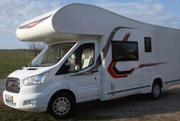 Hire a motorhome in Müglitztal from private owners  Challenger Andreas JJ 69