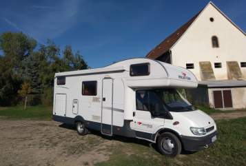 Hire a motorhome in Müglitztal from private owners| Ford Andreas JJ 74