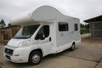 Hire a motorhome in Müglitztal from private owners| Fiat Andreas JJ 74