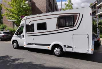 Hire a motorhome in Griesheim from private owners  Etrusco Rolands WM