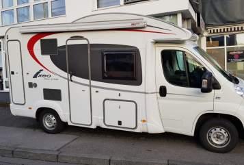 Hire a motorhome in Essen from private owners  Bürstner Dremliner 2