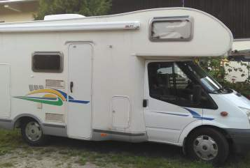 Hire a motorhome in Gstadt a. Chiemsee from private owners| Chausson Papillon