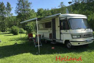 Hire a motorhome in Berlin from private owners  Hymer Willi