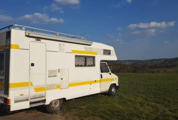 Hire a motorhome in Ottrau from private owners  Knaus  Paulchen Immich