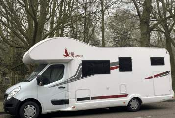 Hire a motorhome in Elz from private owners| Rimor Kata