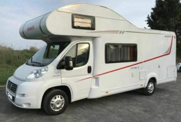 Hire a motorhome in Jüchen from private owners  Dethleffs Dethleff