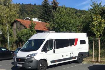 Hire a motorhome in Ettlingen from private owners| Bürstner WoMo mit Solar