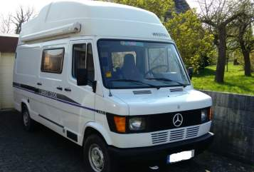 Hire a motorhome in Arnsberg from private owners| Mercedes Westfalia Big Jim