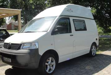 Hire a motorhome in Rhauderfehn from private owners| VW T5  Sprotti