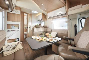 Hire a motorhome in Bedburg from private owners| Bürstner Premium TD 734
