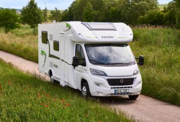 Hire a motorhome in Witten from private owners  Forster Forster