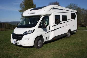 Hire a motorhome in Kirchberg i. Wald from private owners| Fiat Mary 1