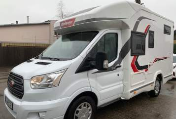 Hire a motorhome in Stolberg from private owners| Challenger Challenger 194