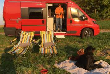 Hire a motorhome in Mühltal from private owners  Adria WoMo Louis