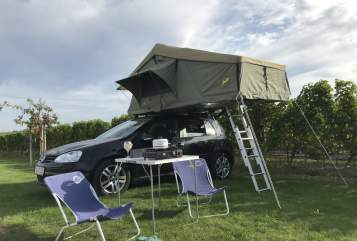 Hire a motorhome in Hamburg from private owners  VW Gordi Golf