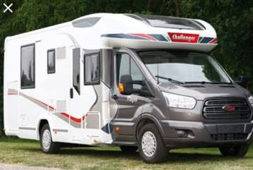 Hire a motorhome in Borchen from private owners| Challanger Hugo