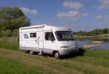 Hire a motorhome in Brück from private owners| Hymer Hymer