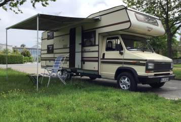 Hire a motorhome in Karlsruhe from private owners| Fiat Ducato Boomer