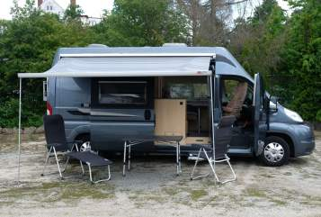 Hire a motorhome in Bayreuth from private owners  La Strada Tristan