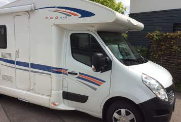 Hire a motorhome in Volkertshausen from private owners| Ahorn Ahorn