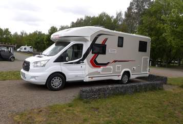 Hire a motorhome in Eilenburg from private owners| challenger Lemmy