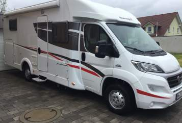 Hire a motorhome in Pfaffenhofen from private owners| Fiat Ducato  Sunlight T67