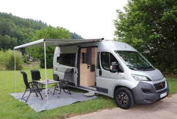 Hire a motorhome in Schönau from private owners| Bürstner Elvis