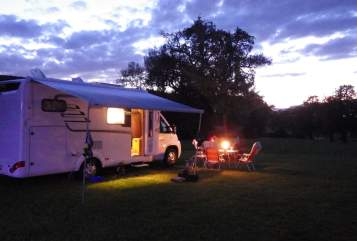 Hire a motorhome in Achau from private owners  Hymer  Schneckenhaus