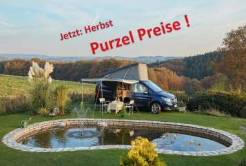 Hire a motorhome in Kürten from private owners| Mercedes Marco Polo 2,2