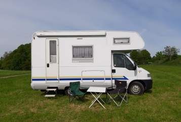 Hire a motorhome in Steinhöring from private owners| Fiat Ducato Rudi