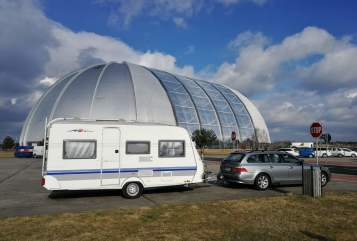 Hire a motorhome in Dormagen from private owners  Hobby Bemie