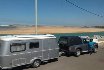 Hire a motorhome in Wolfertschwenden from private owners| Hymer Kasbah