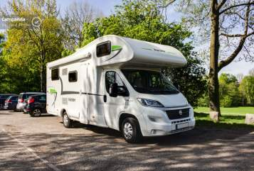 Hire a motorhome in Hamburg from private owners| Forster Forster