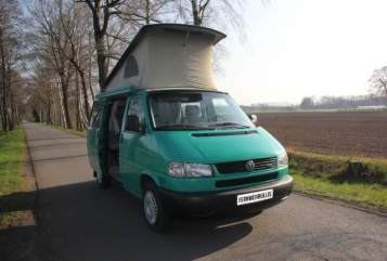 Hire a motorhome in Halle from private owners  VW Grüne Madame