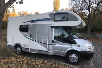 Hire a motorhome in Berlin from private owners| Ford Transit Flash