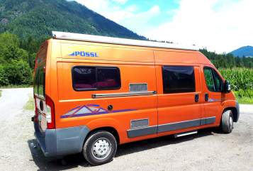 Hire a motorhome in Haltern am See from private owners  Pössl Pössi